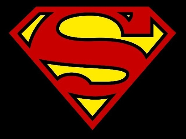 Out Of All The Superhero Logos Superman One Is Most Iconic And Does Not Resemble Any Others If You Showed A Picture Symbol To