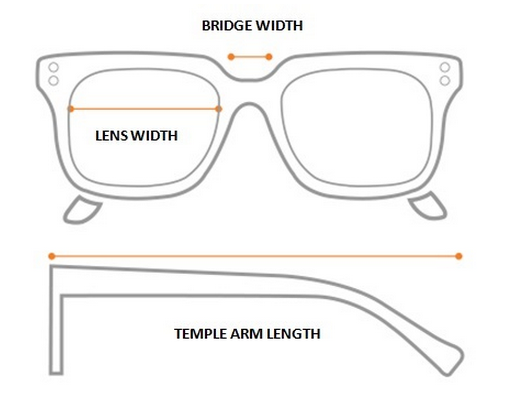 How do eyewear manufacturers come up with the standard nose bridge ...
