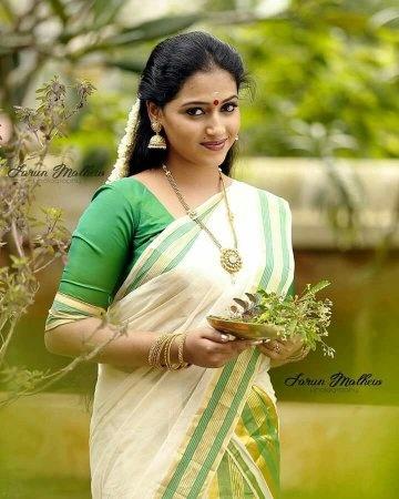 Kerala girls saree