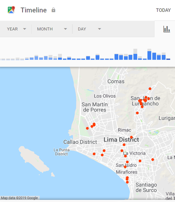 In Google maps, what are the red dots with no lines to them? - Quora