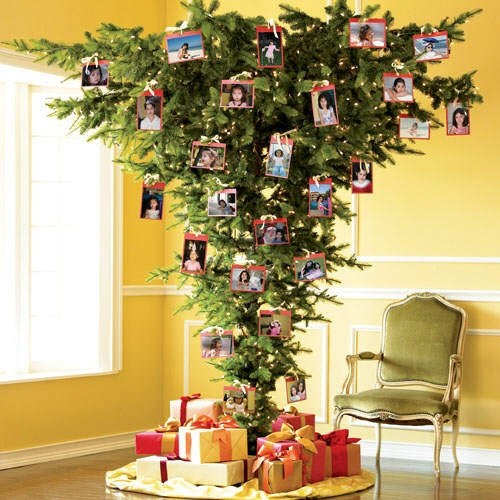here is a more commonly encountered upside down tree - When To Take Christmas Tree Down