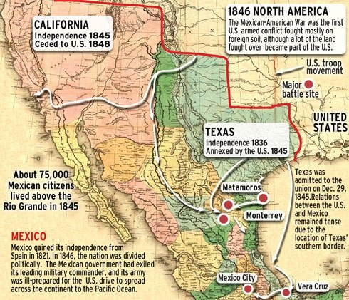 a report on the causes and consequences of the mexican american war an armed conflict between the ye Best answer: the mexican war between the united states and mexico began with a mexican attack on american troops along the southern border of texas at the time of the war, mexico had a highly unstable government the federal constitution of 1824 had been abrogated in 1835 and replaced by a.