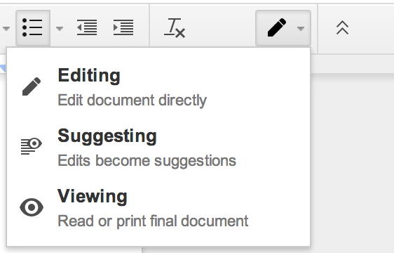 Is There A Way To Do Track Changes In Google Docs How Can I Mark Up - How to edit google docs