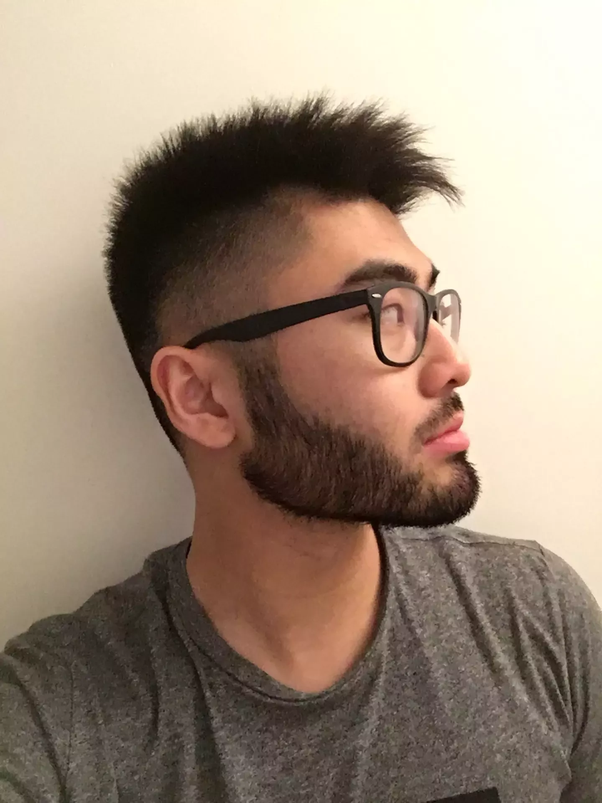 Asian hairy man