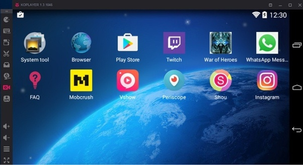 can i use android apps on my pc