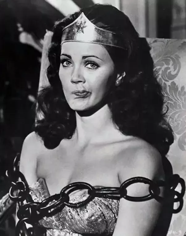 Lynda carter wonder woman bondage