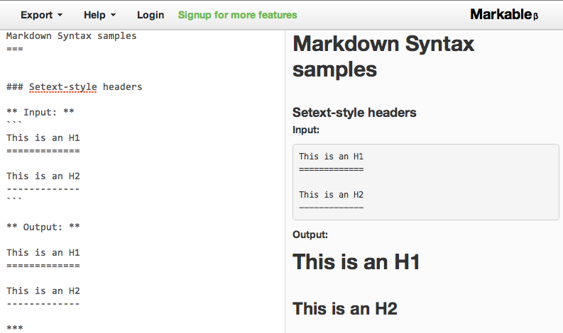 Is there a good web-based Markdown editor? - Quora