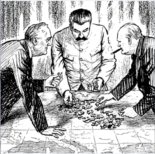 At Yalta Was Roosevelt Aware That He Was Delivering The East Europe