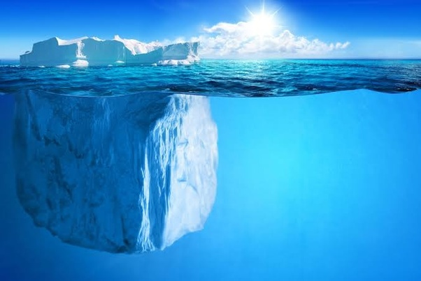 Why does ice float on water? - Quora