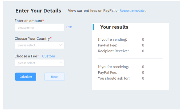 How are PayPal international transaction fees calculated