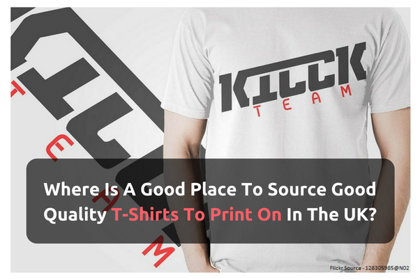 Where is a good place to source good quality t-shirts to
