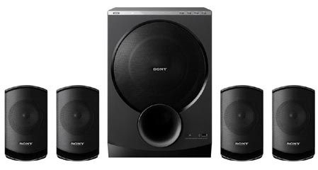 The Sony SA D100 4.1 Speaker System Has A Stylish And Elegant Design. The  Design Of This Speaker Is Not Only A Beauty On Its Own But Also Enhances  The Looks ...