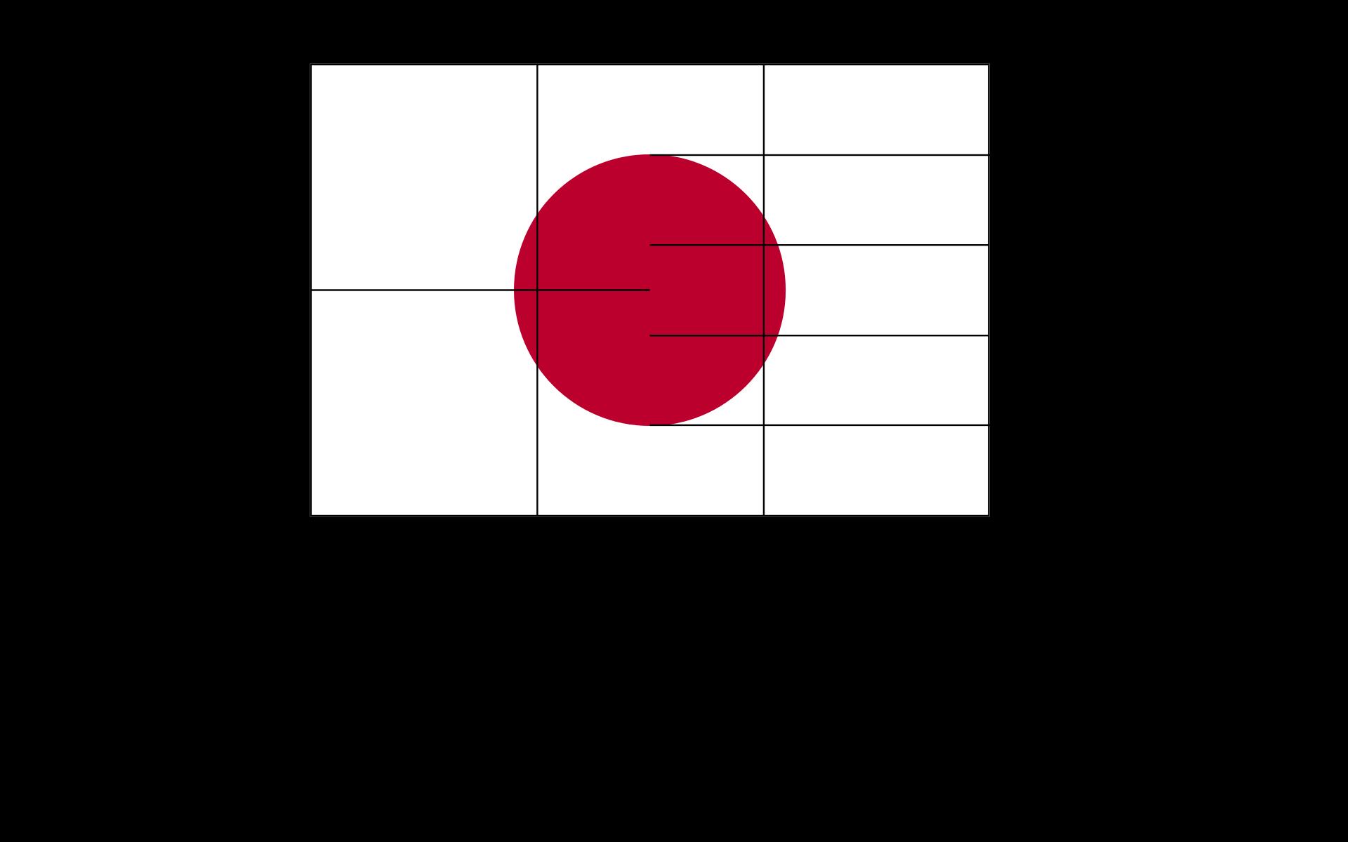 日本の国旗の日の丸は完全な円ですか? - Quora