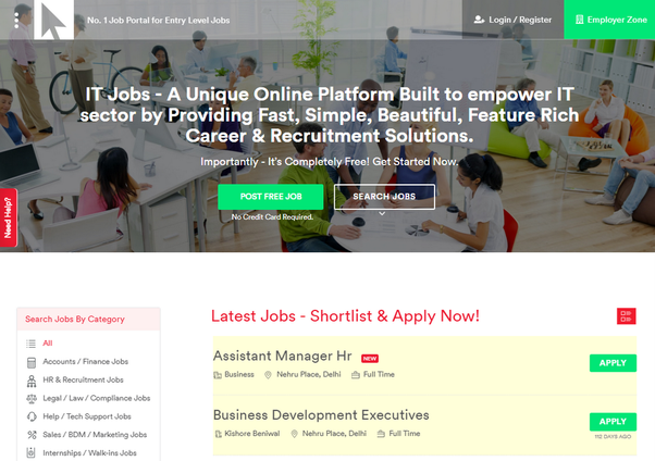 Most effective way to find jobs in Pune India online? - Quora
