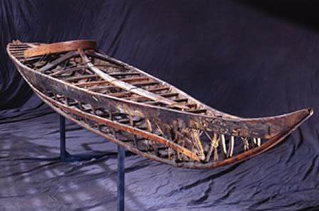The Frame Was Constructed Of Driftwood And Sealskin Sewn With A Very Special Waterproof Stitch Invented By Inuit