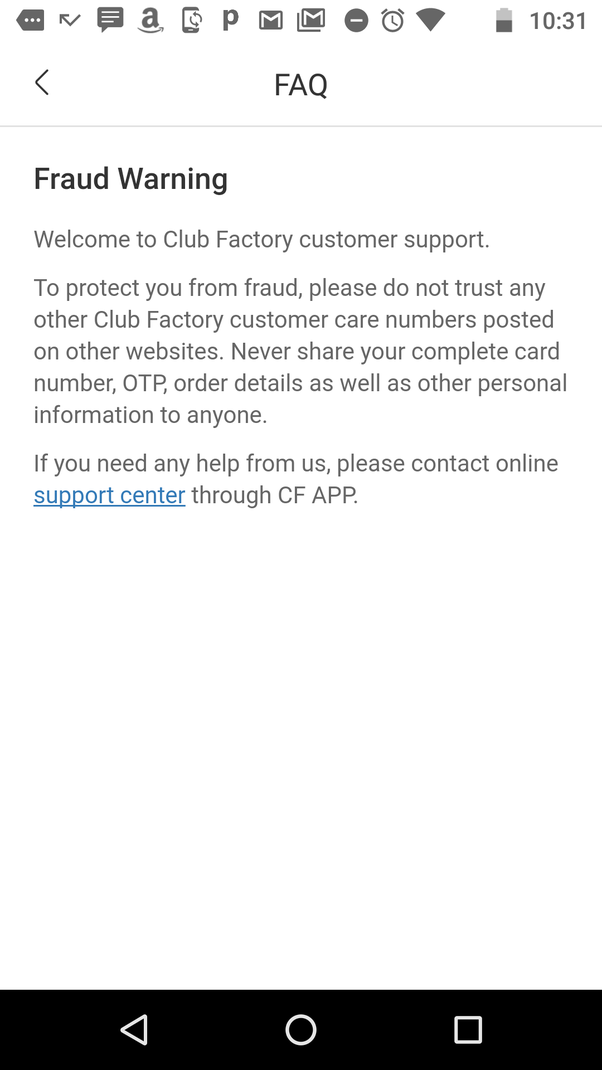 589b1f2be1 EDIT   Please read this here if you re unaware of the basics of protecting  yourself from online scams.