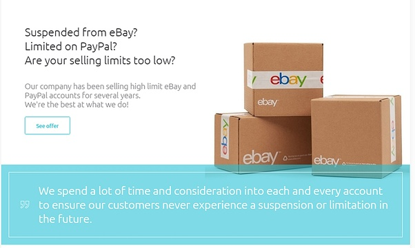 Where can I buy an ebay top rated seller account? - Quora