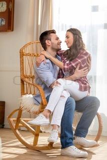 Pity, girl sitting naked on boys lap