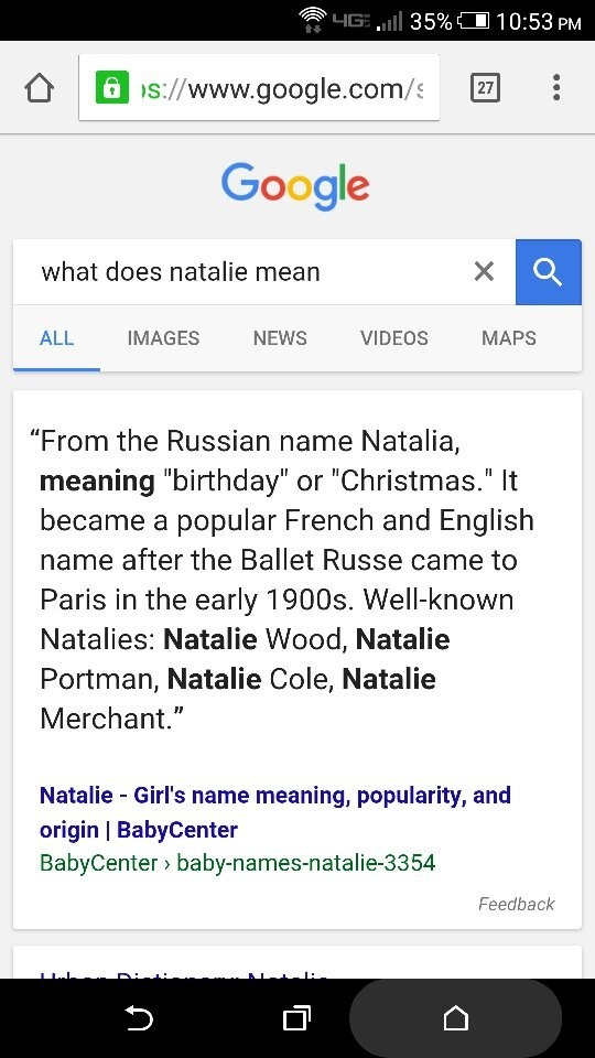 What Is The Meaning Of My Name Quora