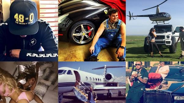 rich man instagram