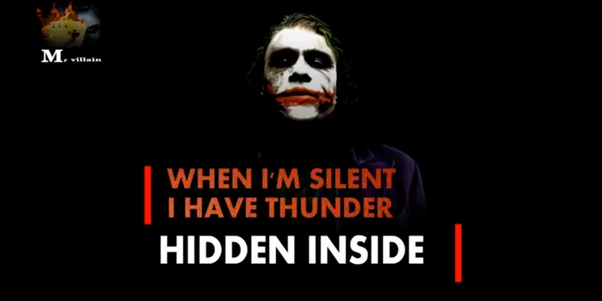 which are the joker s best quotes quora