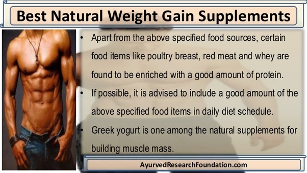 What is a good natural weight gain supplement for everyday? - Quora