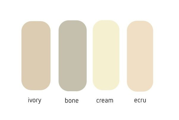 What Does The Color Ivory Look Like Quora