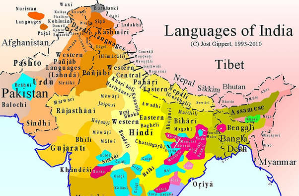 How did Hindi become a dominant language in India? - Quora