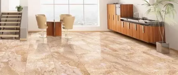 Good The Flooring Is Provided In The Same Manner As That Of Other Types Of Tiles,  However Care Has To Be Taken To Match The Patterns While Laying The Same.