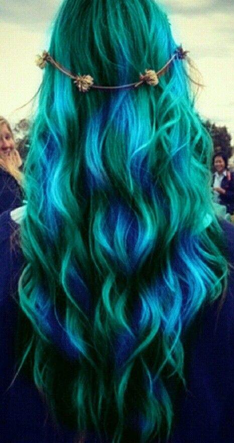 What Color Does Blue Hair Fade Into Quora