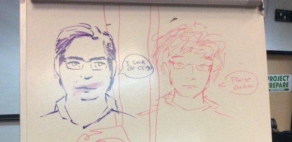 What are some cool things to draw on whiteboards quora for Cute whiteboard drawings