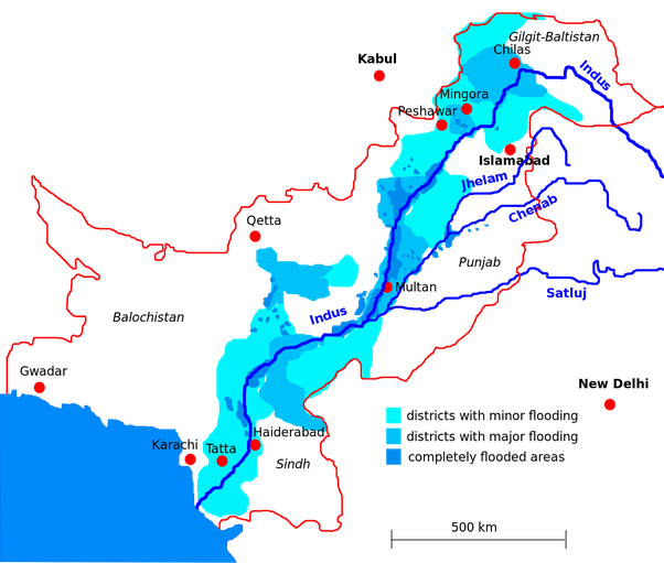 What Are The Major River Systems In India Quora - Major river systems of the world