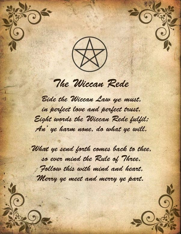 why is dark magic frowned upon in wicca? - quora