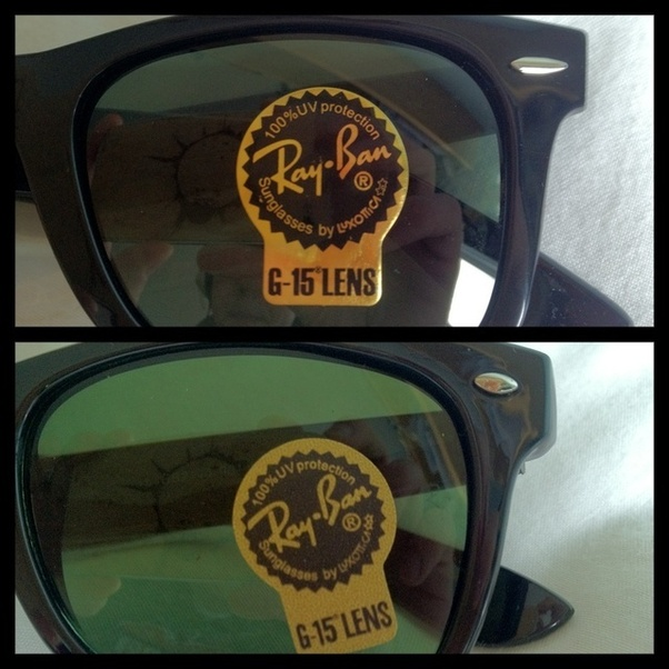 How to identify the originality of Ray-Ban sunglasses - Quora