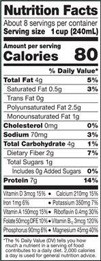milk (dairy, almond, soy, oat, etc