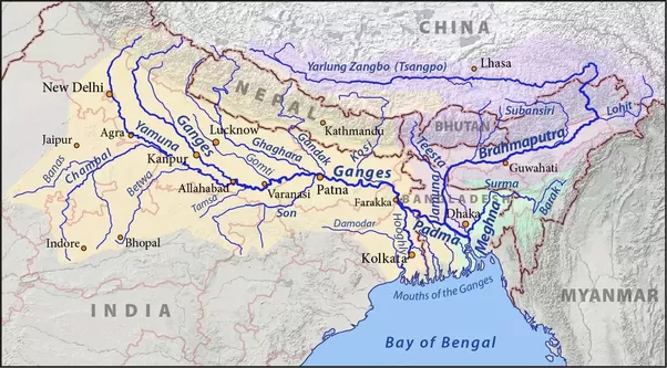 What River Basins Have The Highest Population Quora - River basins of the world