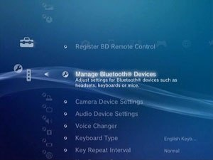how to connect bluetooth headset to ps3