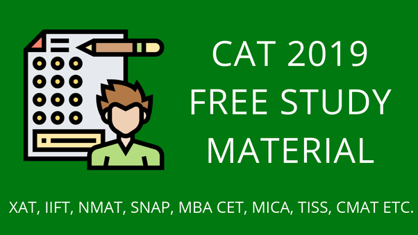 Where can I download free CAT study material? - Quora