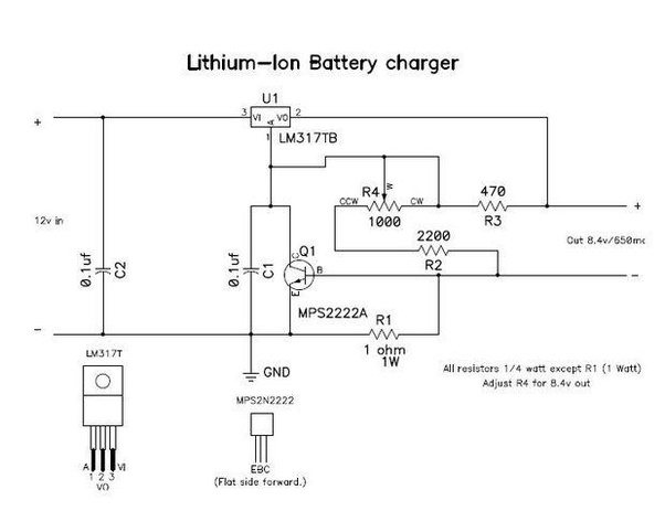 what is the difference in a charger for a lithium ion battery and a rh quora com Capacitor Battery Charger Circuit NIMH Battery Charger Circuit Diagram