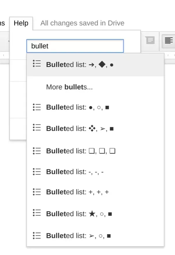 How To Set The Default Bullets Type In Google Docs Quora - Create checklist in google docs