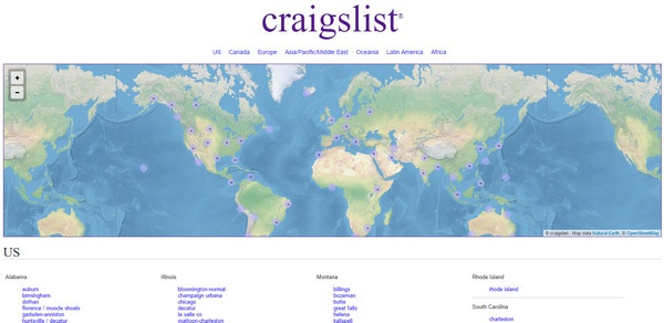 Most users of Backpage Seizure will probably known about Craigslist, but if  you don't give this website a look. It is easily as popular as any personal  and ...