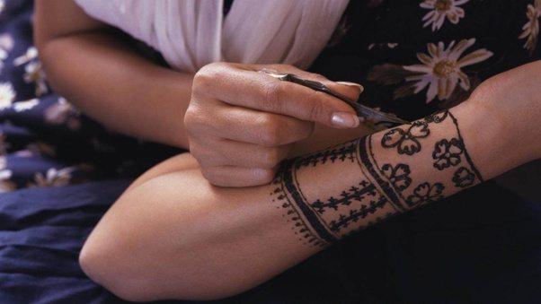 Mehndi Henna Lemon : How to make a henna tattoo quora