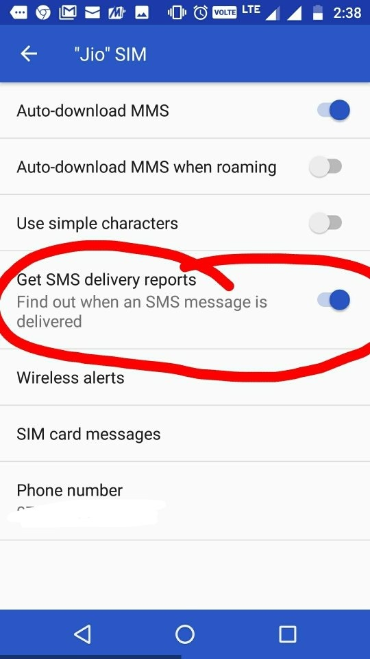 How to know if someone received my text messages from my android and you are good to go ccuart Gallery