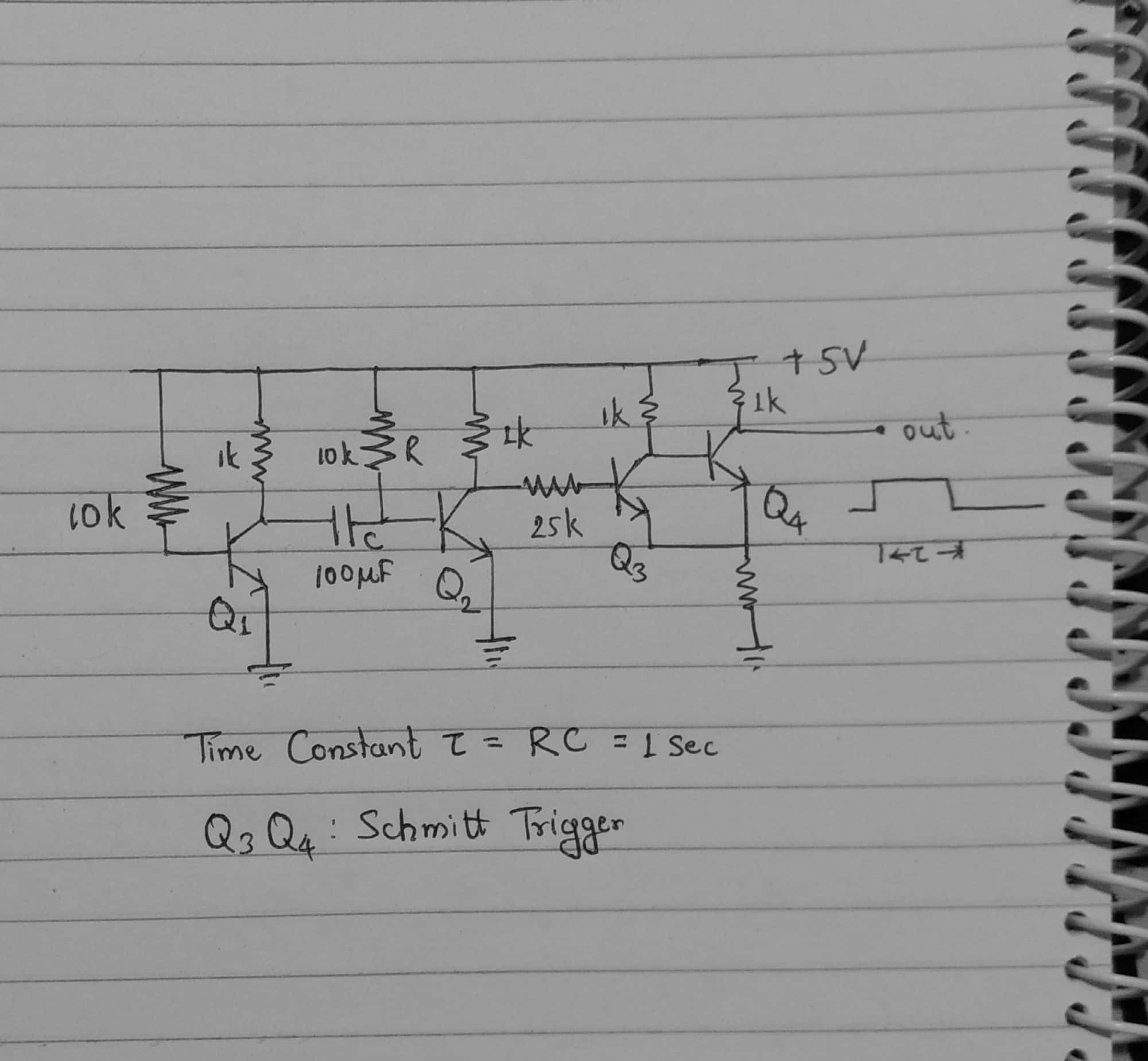 I Need A Timer Circuit That Switches Off The Power To 12v Lamp 555 Generating Delayed Pulse Schematic Timing Would Depend On Resistor R And Capacitor C In Above Are Chosen Such Way Output Is High For