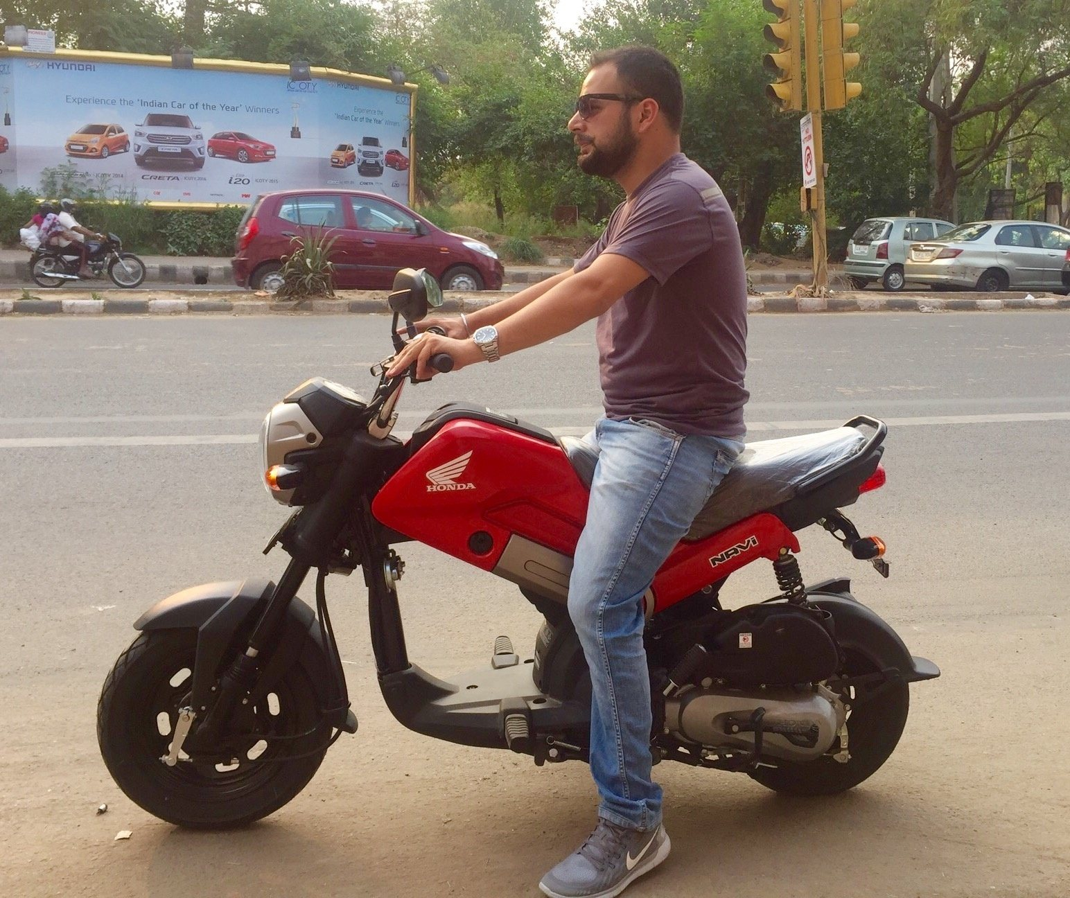 Will People Buy Bikes Like Honda Navi In India Quora Front View For Money Looking Easy Commute Distance Less Than 20kms To And Fro Housebike Fir Groceries Veggies Bike Till Park Back