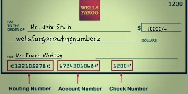 Wells Fargo Routing Numbers For Direct Transfer Well Company Is A Famouost Successful American Multinational Banking And Financial Services