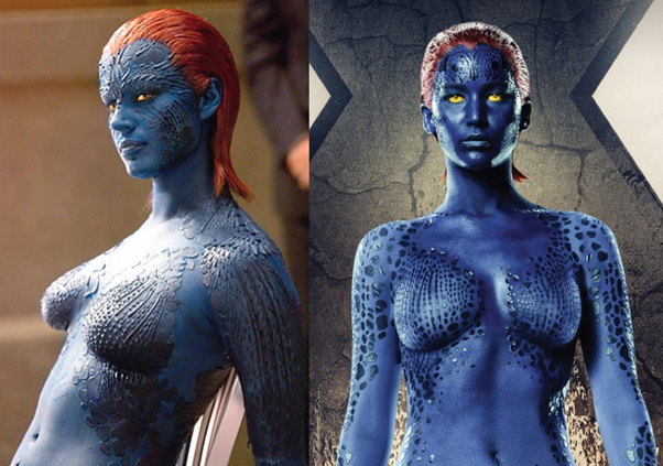 Join. rebecca romijn stamos as mystique pics
