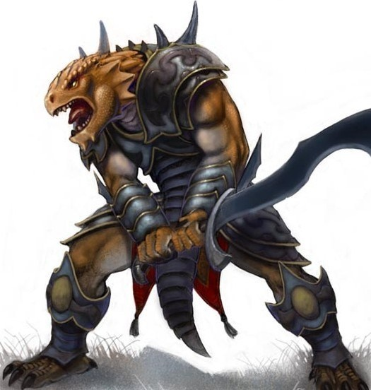 What are some good classes for Dragonborn in Dungeons