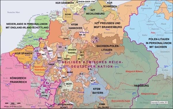 Deutschland 1700