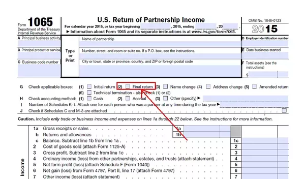 Taxes In The United States Of America Is Not Filing A Final Form